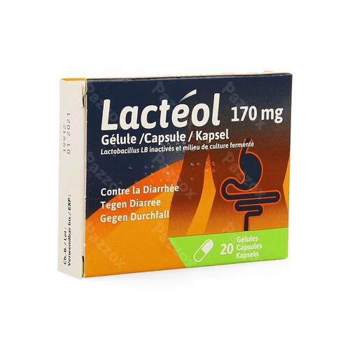 Lacteol 170mg Caps 20