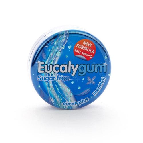 Eucalygum Gomme Pectorale A Sucer Sans Sucre 40g