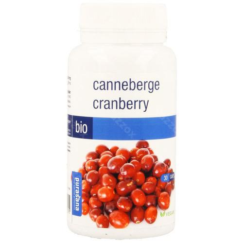 Purasana Canneberge Bio Caps 30