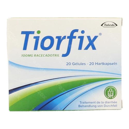 Tiorfix 100mg Adultes Caps Dur 20