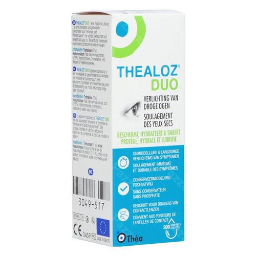 Thealoz Duo Gutt Oculaires 10ml Rempl.2506780