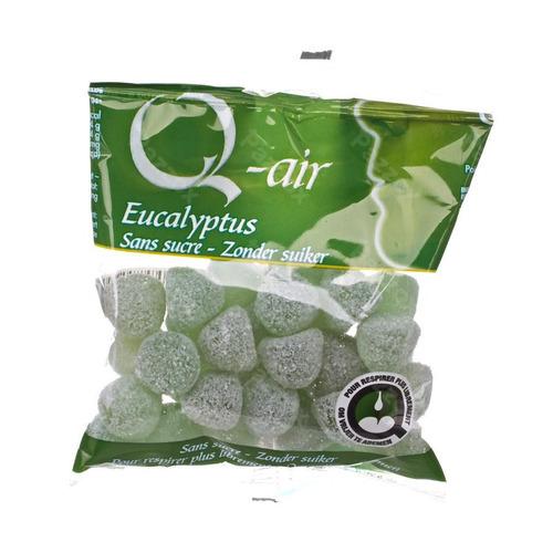 Q-air Eucalyptus Sans Sucre Gommes 85g