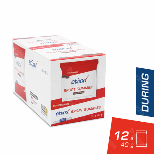 Etixx Sport Gummies 12x40g