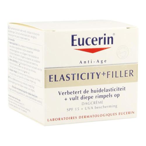 Eucerin Hyaluron-filler +elasticity Soin De Jour Spf 15 50 Ml