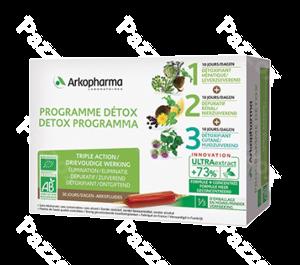 Arkofluide Programme Detox Amp 30