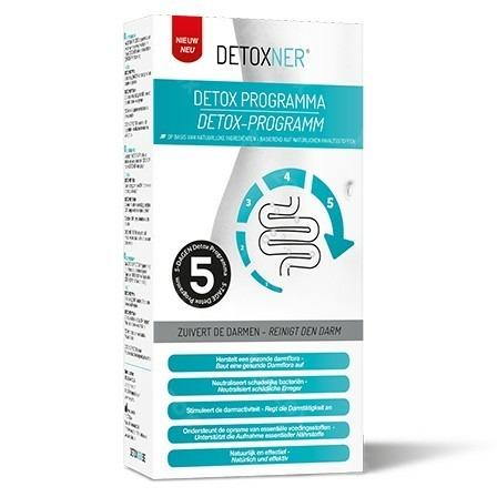 Detoxner Programme Detoxifiant Nat. Sach 5+comp 20
