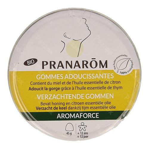 Aromaforce Bio Gommes Adoucissantes Miel 45