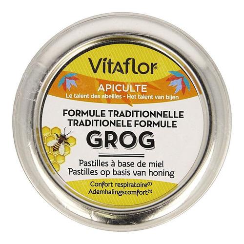Vitaflor Grog Formule Tradit. Miel Past. 45g