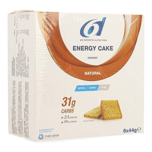 6d Sports Nutrition Energy Cake 6x44g