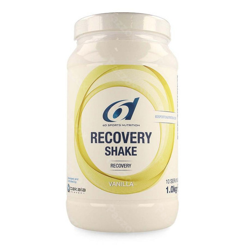 6d Sports Nutrition Recovery Shake Vanilla 1kg